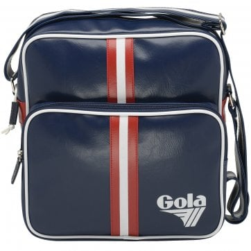 Gable Retro Stripe Messenger Bag
