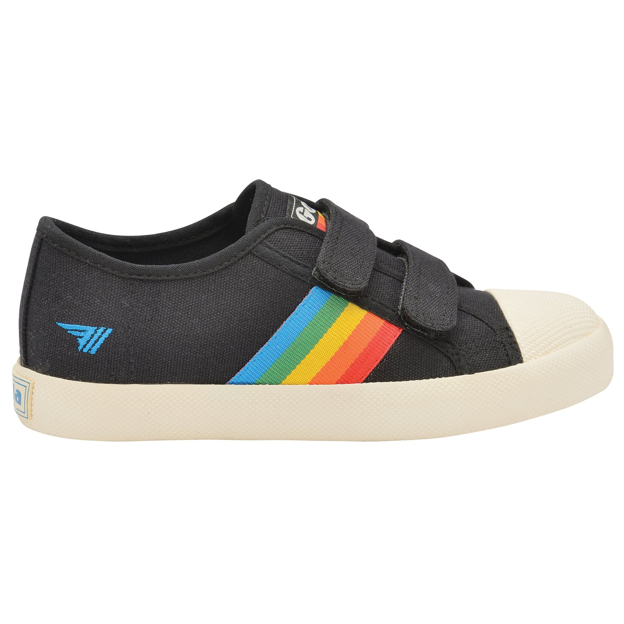 Kids Coaster Rainbow Strap Sneakers