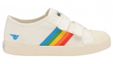 Kids Coaster Rainbow Velcro Trainer