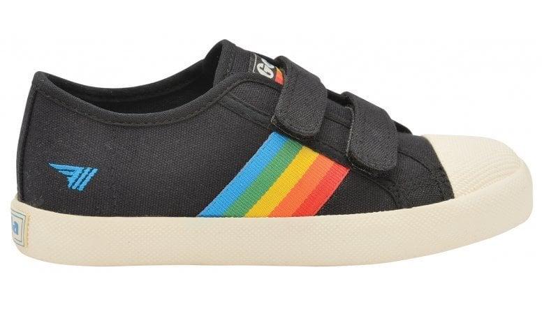 Kids Coaster Rainbow Velcro Trainer