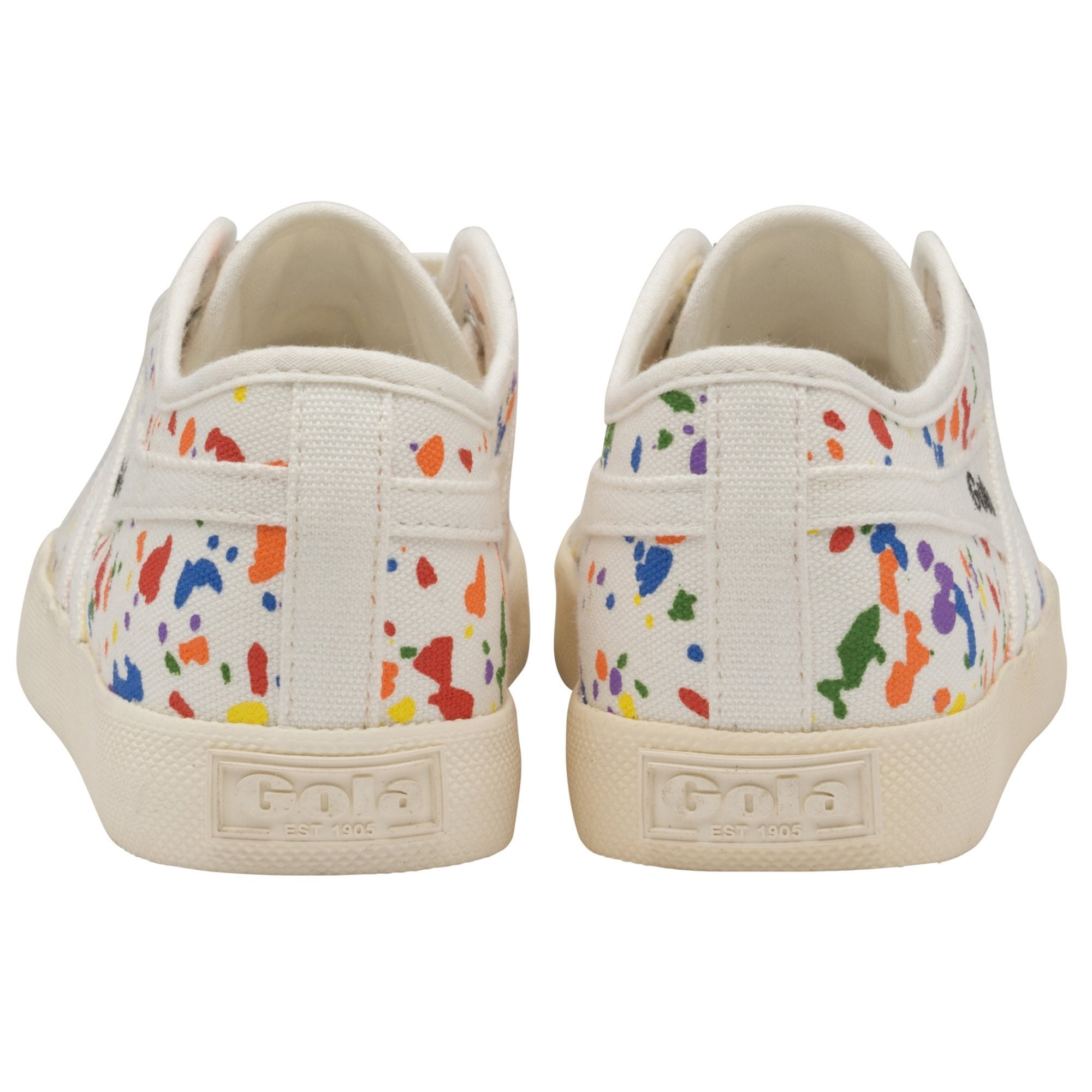 Kids Coaster Splatter Sneakers