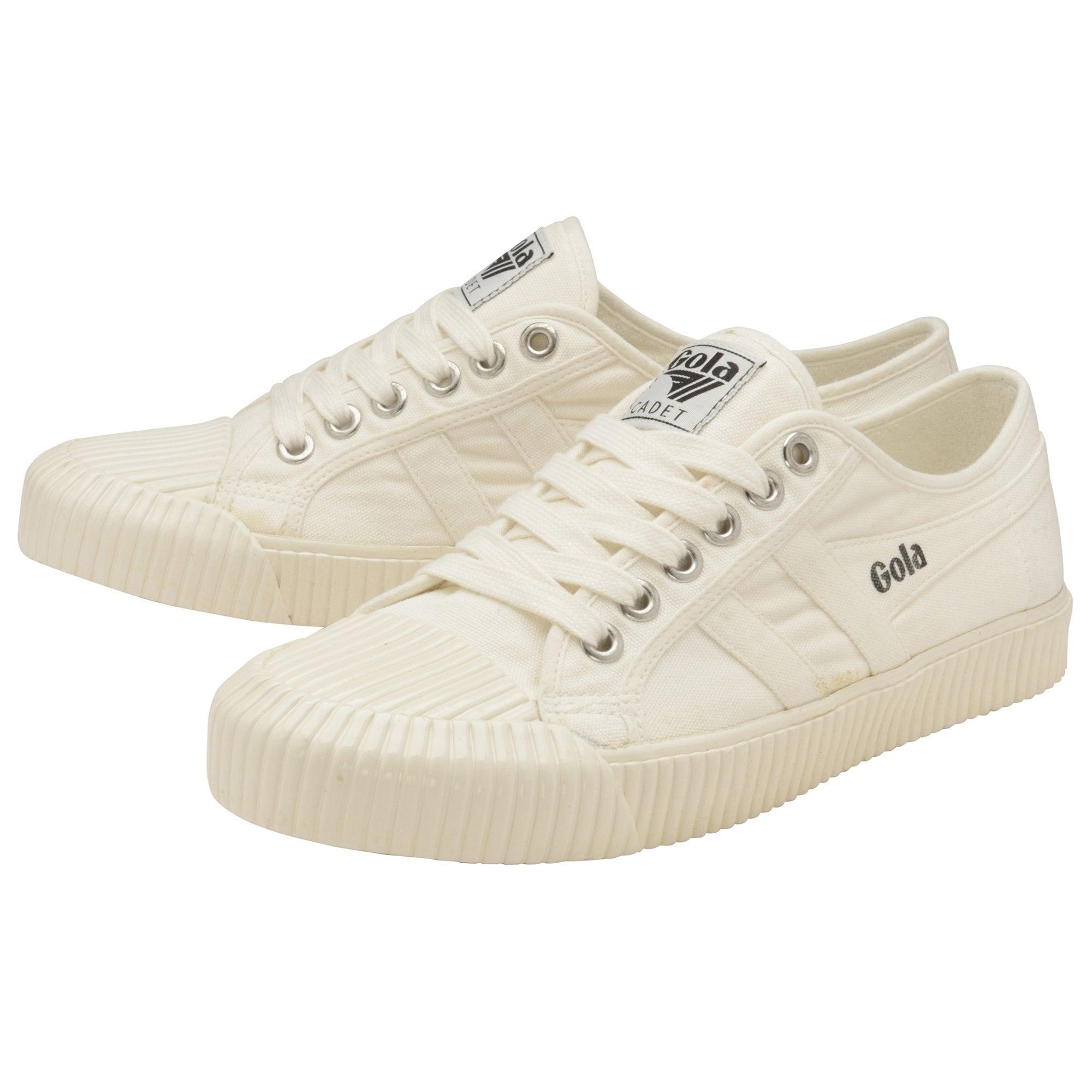 Gola Cadet High Damen Off White Textil Sneaker