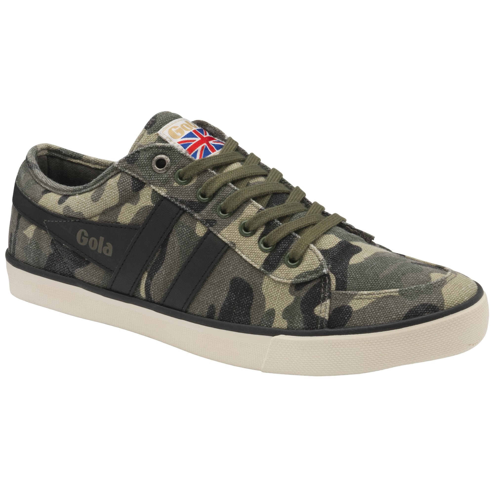 Men's Comet Camo Plimsoll Trainer