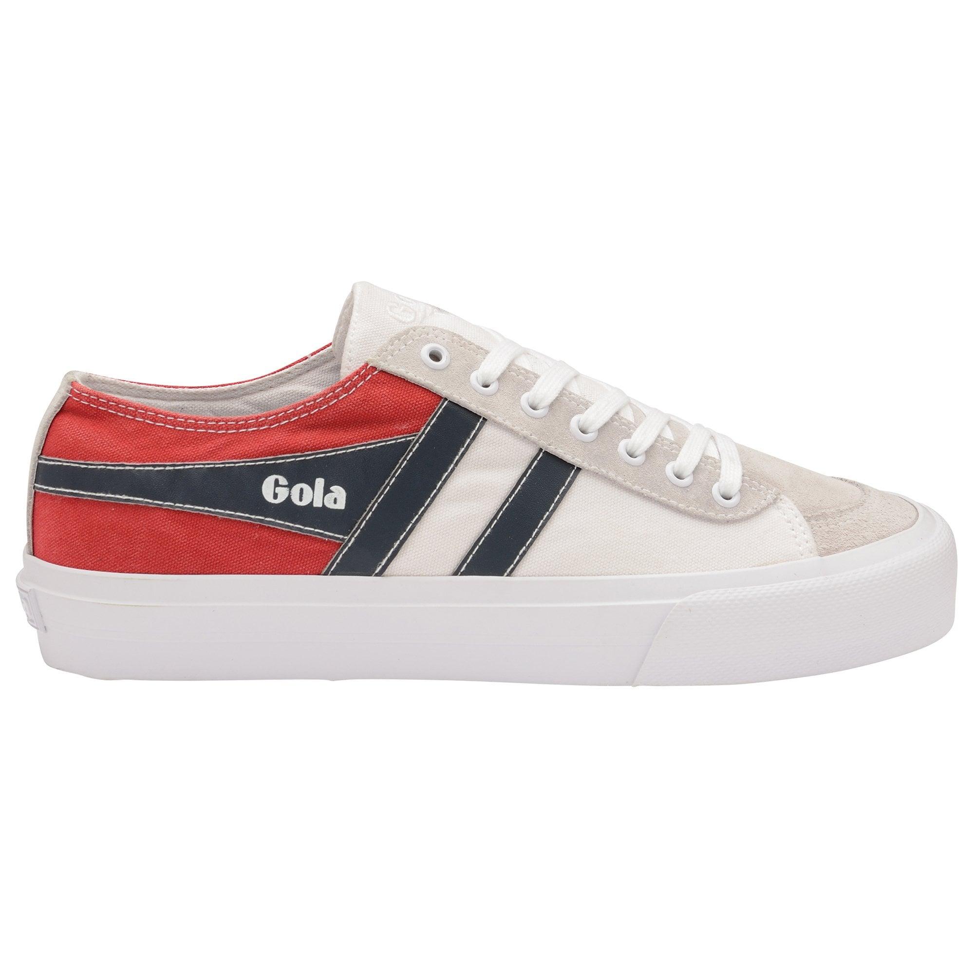 Buy Gola mens Quota II RWB White/Red