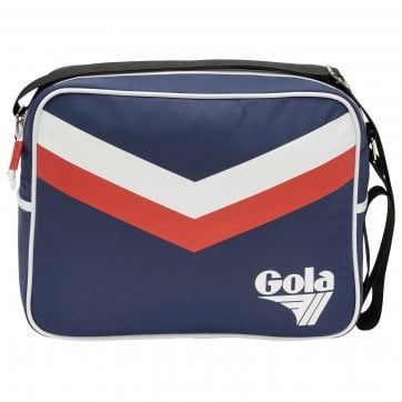 Redford Chevron Messenger Bag