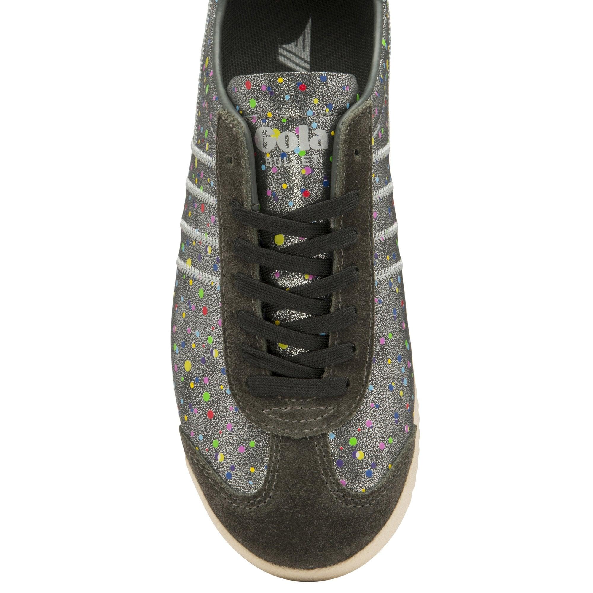 Gola womens Bullet Shimmer Dot sneaker