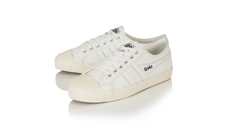 Women's Coaster Leather Trainers