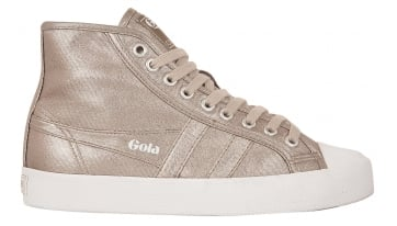 Women's Coaster Metallic High Trainer