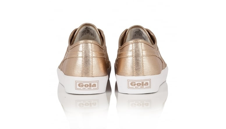 Gola Womens Coaster Metallic Sneakers