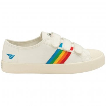 Women's Coaster Rainbow Velcro Sneakers