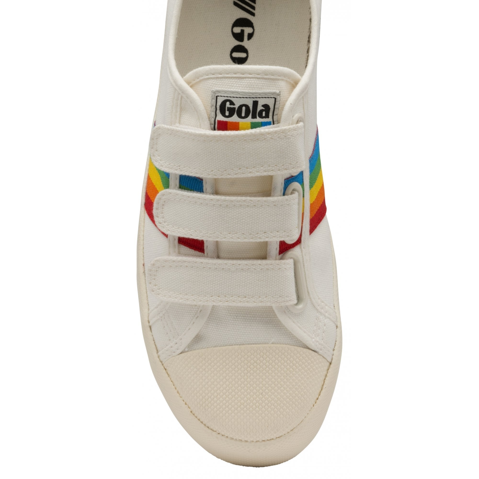 Women's Coaster Rainbow Strap Sneakers