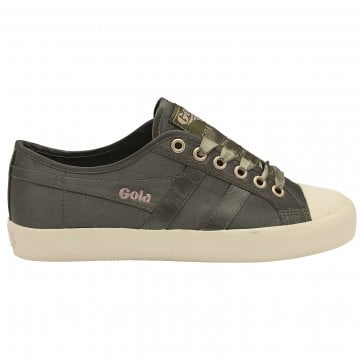 Women's Coaster Satin Plimsolls