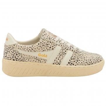 Gola womens Grandslam Cheetah sneaker
