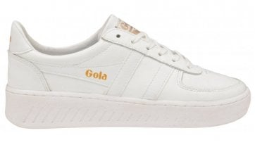 Women's Grandslam Leather Trainer