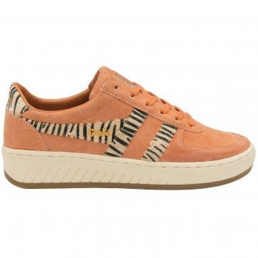 Women's Grandslam Suede Safari Trainer