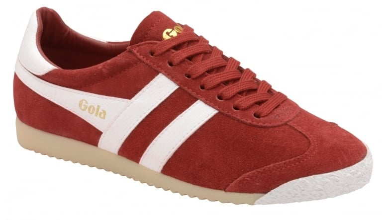 Outlet Prices Womens Harrier 50 Suede Red/White Trainers Gola Sneakernews Cheap Price Sale Excellent Best Wholesale Cheap Price Discount Great Deals tuWQiNzp74