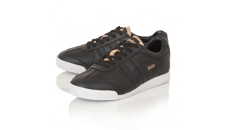 Women's Harrier Glimmer Leather Trainer