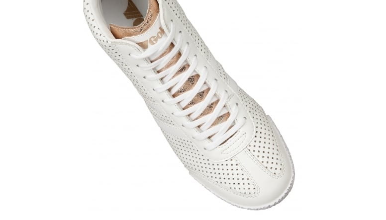Women's Harrier High Glimmer Leather Trainer