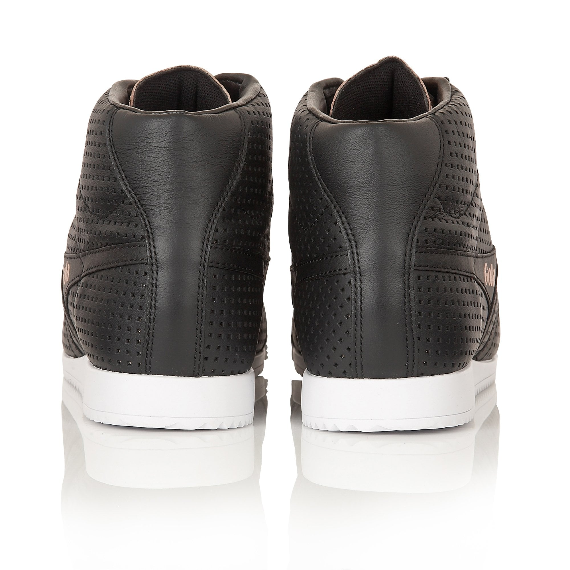 Women's Harrier High Glimmer Leather Sneakers