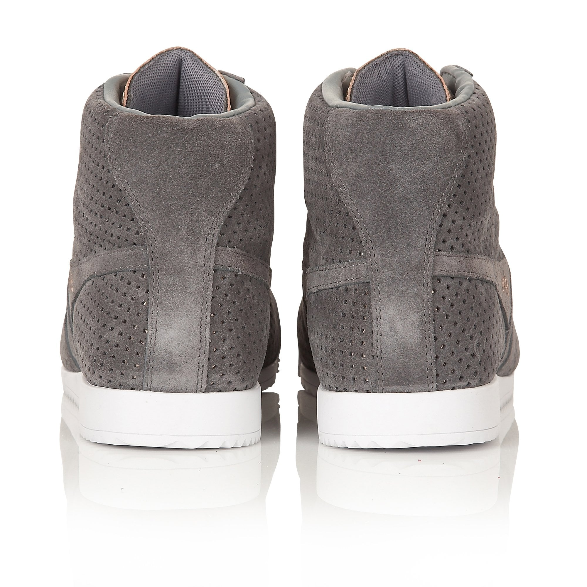 Women's Harrier High Glimmer Suede Trainer