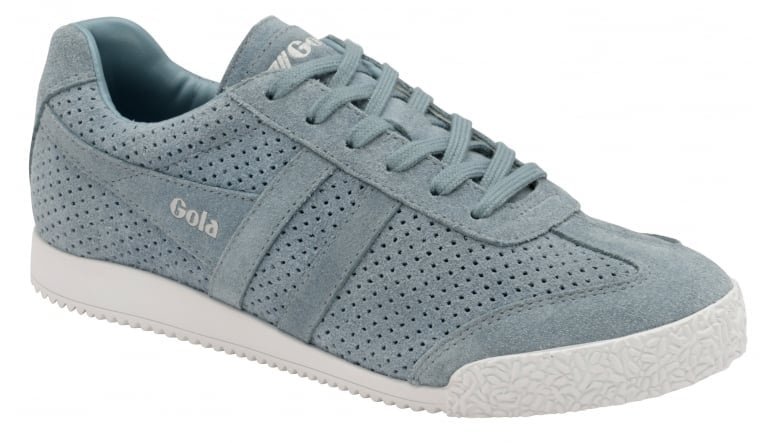 Womens Harrier Squared Indian Teal Trainers Gola RAlL9R6v0c